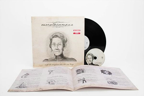 Marathonmann - ...Und Wir Vergessen Was Vor Uns Liegt Black Vinyl LP