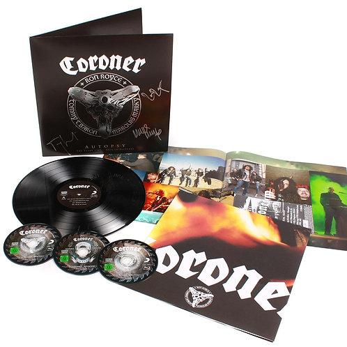 Coroner - Autopsy Black Vinyl LP