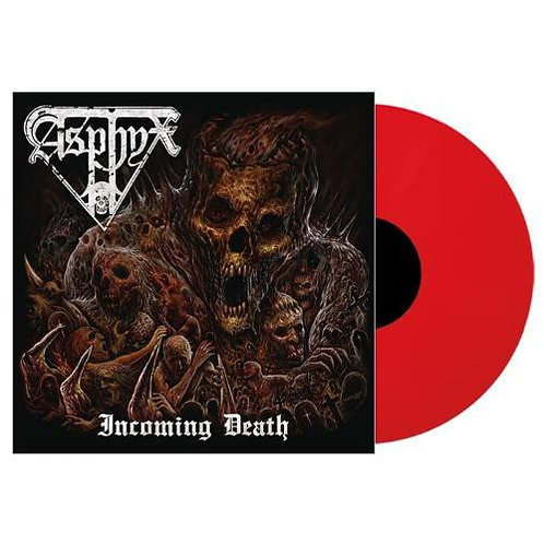 Asphyx - Incoming Death Red Vinyl LP