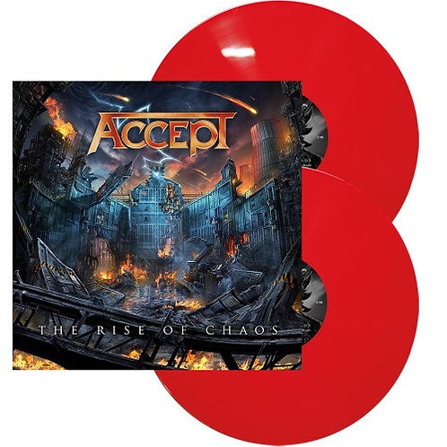 Accept - The Rise Of Chaos Red Vinyl 2LP