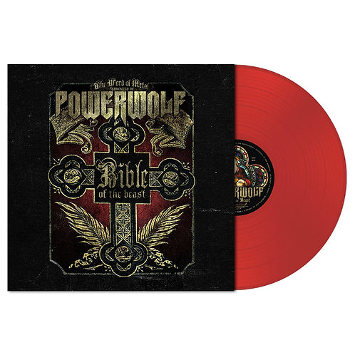 Powerwolf - Bible Of The Beast Red Vinyl LP