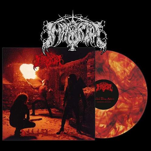 Immortal - Diabolical Fullmoon Mysticism Red Black Orange Marble Vinyl LP