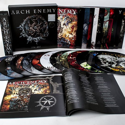 Arch Enemy - 1996-2017 Picture Vinyl Boxset Box Set 12LP