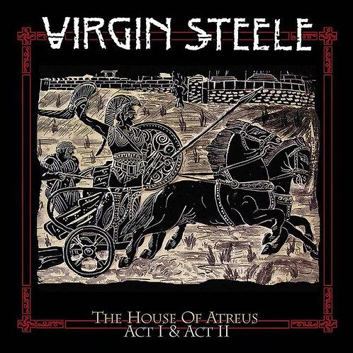 Virgin Steele - The House Of Atreus Act I &II Grey Splatter Vinyl 4LP