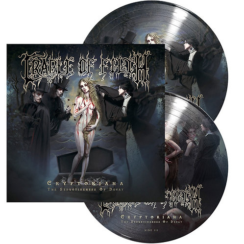 Cradle Of Filth - Cryptoriana - The Seductiveness Of Decay Picture Vinyl 2LP