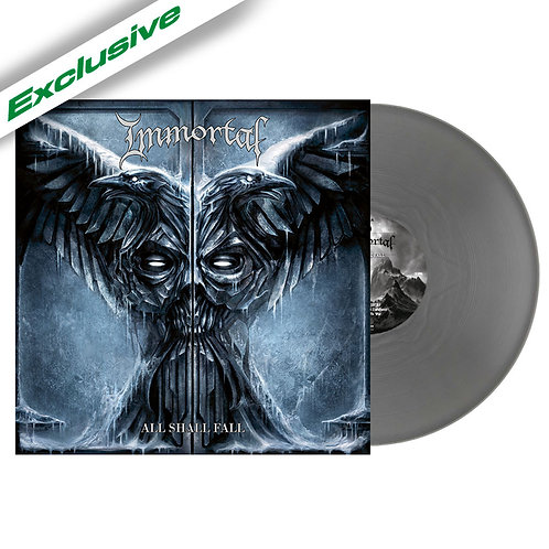 Immortal - All Shall Fall Silver Vinyl LP
