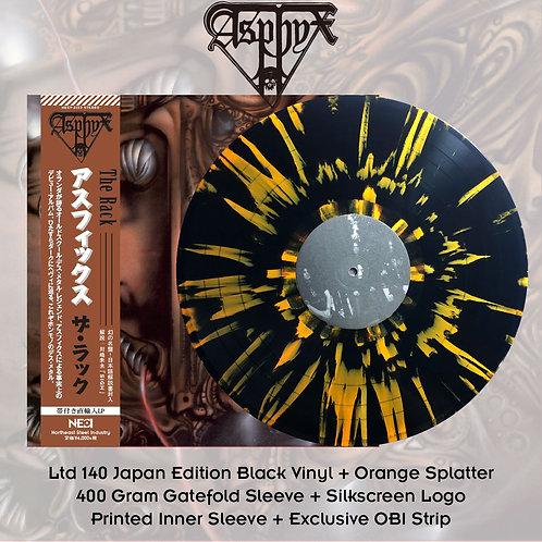 Asphyx - The Rack Black Vinyl + Orange Splatter