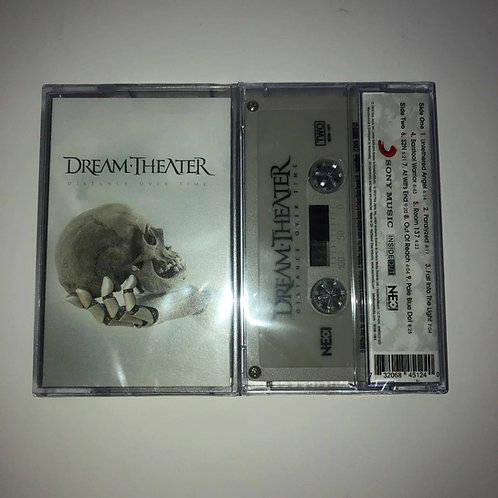 Dream Theater - Distance Over Time Cassette Grey Shell Ltd 300