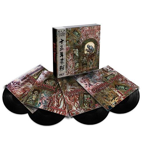 Cannibal Corpse - 15-Year Killing Spree Boxset 4LP Black Vinyl Ltd 200