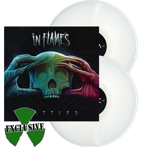 In Flames - Battles White Vinyl 2LP