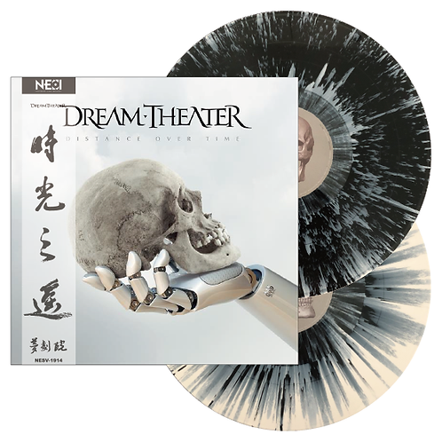 Dream Theater - Distance Over Time Splatter Vinyl 2LP Ltd 500