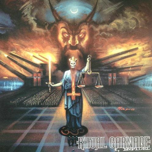 Ritual Carnage  - I Infidel Black Vinyl LP