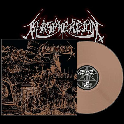Blasphereion - Rest In Peace Bronze Vinyl LP