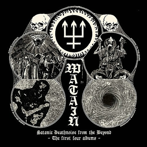Watain - Satanic Deathnoise From The Beyond - The First Four Albums 4CD