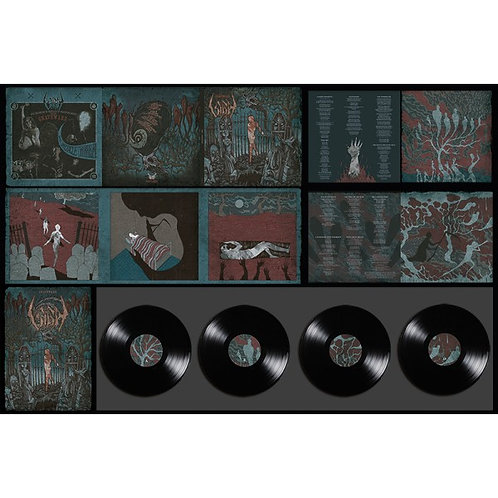 Sigh - Graveward Black Vinyl 2LP