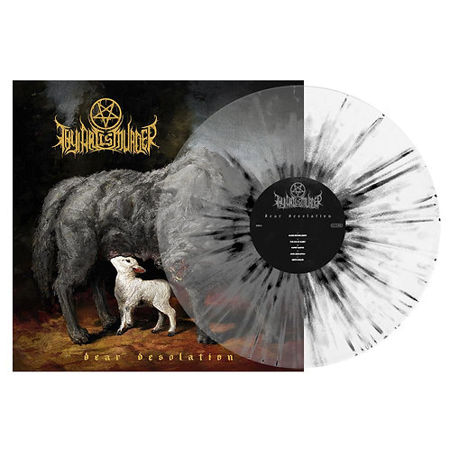 Thy Art Is Murder - Dear Desolation Clear/White/Black Splatter Vinyl LP