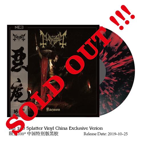 Mayhem - Daemon Red Splatter Vinyl Gatefold LP Ltd 100