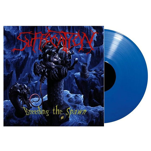 Suffocation - Breeding The Spawn Blue Vinyl LP