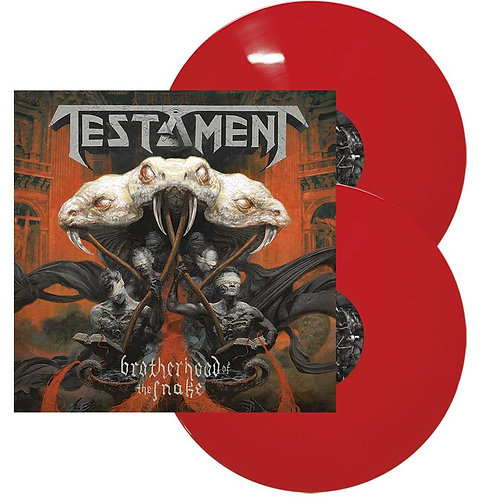 Testament - Brotherhood Of The Snake Red Vinyl 2LP