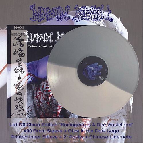 Napalm Death - Throes of Joy in the Jaws of Defeatism Ltd 170 Homogeny Is A Dire