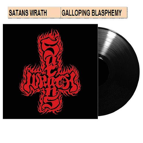 Satan's Wrath - Galloping Blasphemy Black Vinyl LP