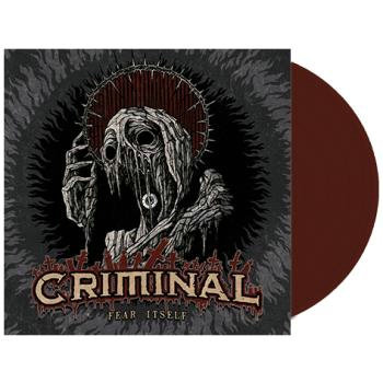 Criminal - Fear Itself Red Marble Vinyl LP