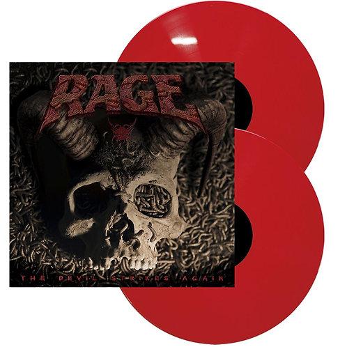 Rage - The Devil Strikes Again Red Vinyl 2LP