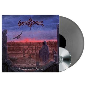 Gates Of Ishtar - At Dusk And Forever Silver Vinyl LP