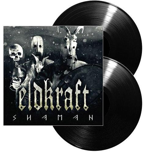 Eldkraft - Shaman Clear/Black Splatter Vinyl 2LP