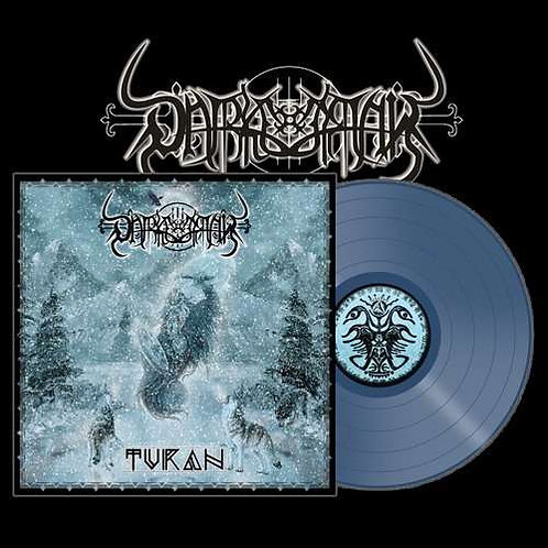Darkestrah - Turan Blue Vinyl LP