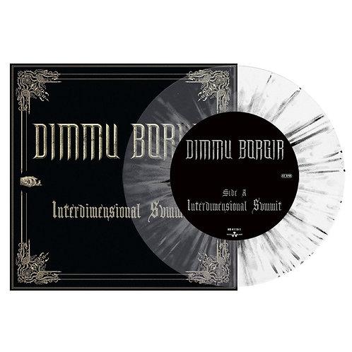 "Dimmu Borgir - Interdimensional Summit White/Black Splatter Vinyl 7"""