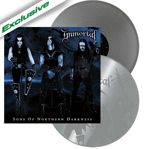 Immortal - Sons Of Northern Darkness Silver Vinyl 2LP