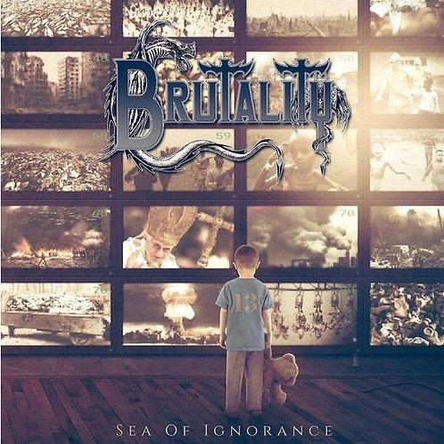 Brutality - Sea Of Ignorance Black Vinyl LP