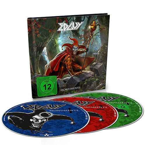 Edguy - Monuments 4CD+DVD