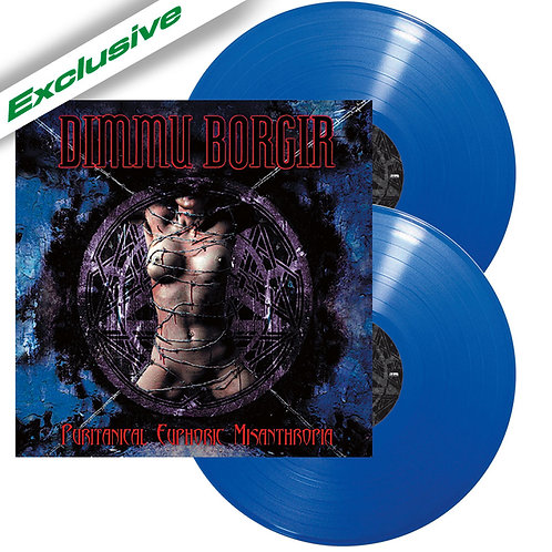 Dimmu Borgir - Puritanical Euphoric Misanthropia Blue Vinyl 2LP