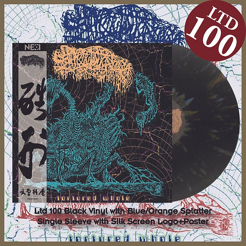 Sanguisugabogg - Tortured Whole Ltd 100 Black Vinyl+Blue/Orange Splatter