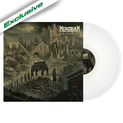 Memoriam - For The Fallen White Vinyl LP