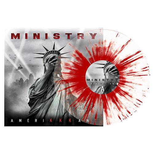 Ministry - Amerikkkant Splatter Vinyl LP
