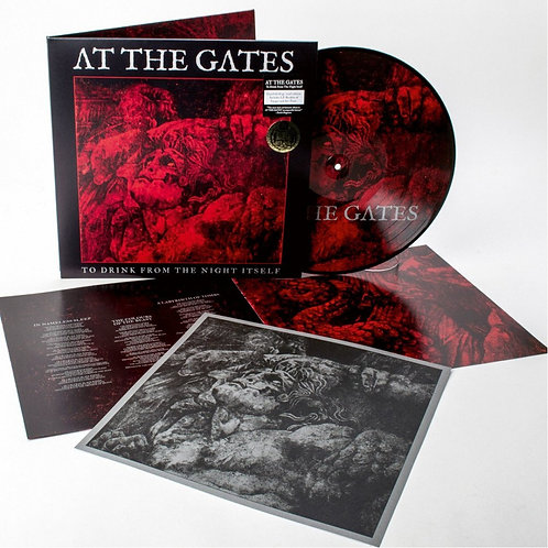 At The Gates - To Drink From The Night Itself Picture Vinyl LP