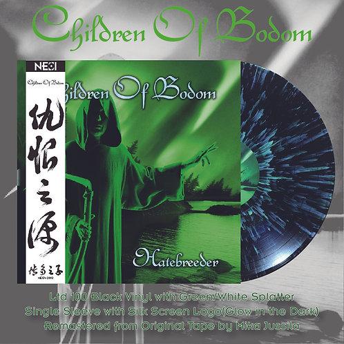Children Of Bodom - Hatebreeder Ltd 100 Splatter Vinyl
