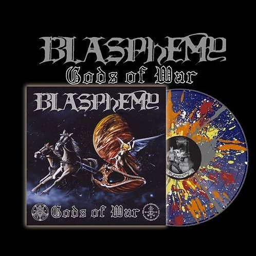 Blasphemy - Gods Of War & Blood Upon The Altar Splatter Vinyl LP
