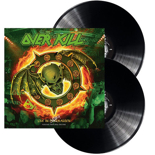 Overkill - Live In Overhausen Volume Two: Feel The Fire Black Vinyl 2LP