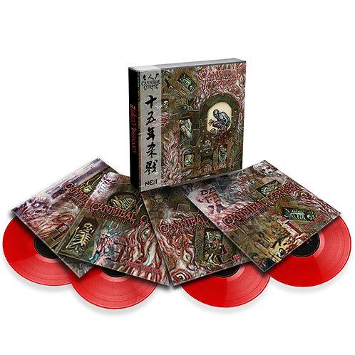 Cannibal Corpse - 15-Year Killing Spree Boxset 4LP Red Vinyl Ltd 200