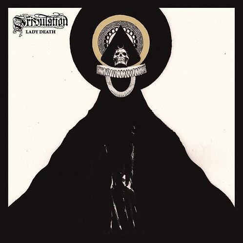 "Tribulation - Lady Death Orange Vinyl 7"""