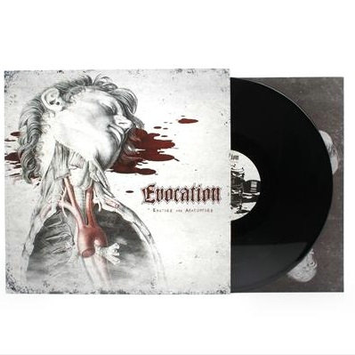 Evocation - Excised And Anatomised Black Vinyl LP