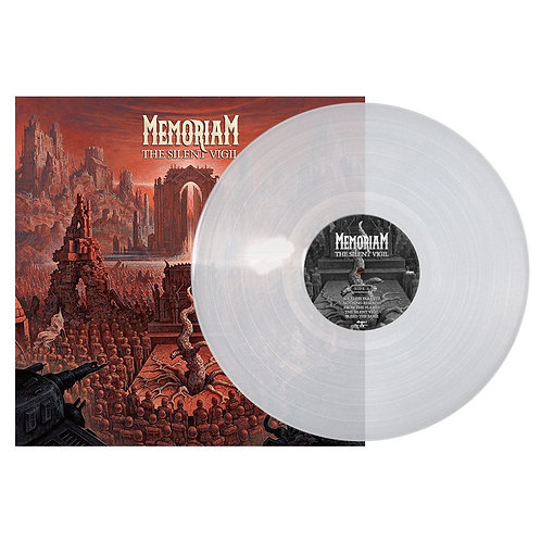 Memoriam - The Silent Vigil Clear Vinyl LP