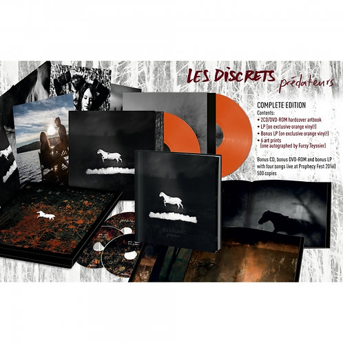 Les Discrets - Predateurs Orange Vinyl Box Set 2LP