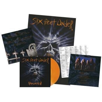 Six Feet Under - Haunted Orange Vinyl LP