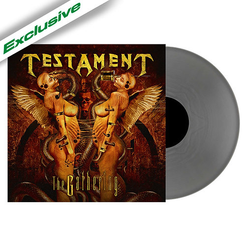 Testament - The Gathering Silver Vinyl LP