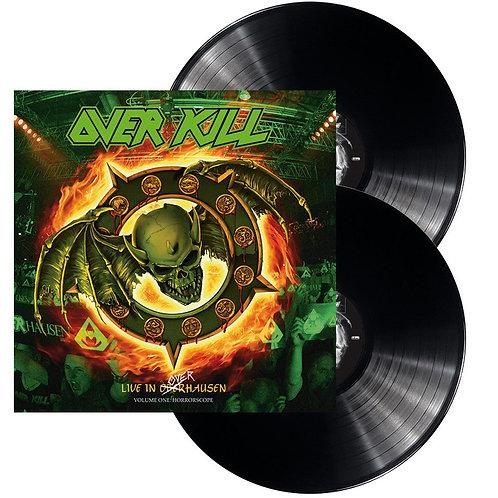 Overkill - Live In Overhausen Volume One: Horrorscope Black Vinyl 2LP